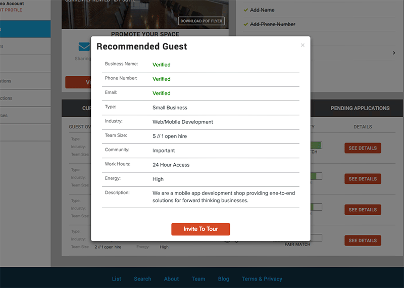 Host Dashboard 3